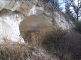 [Cave cut in Diatomite]