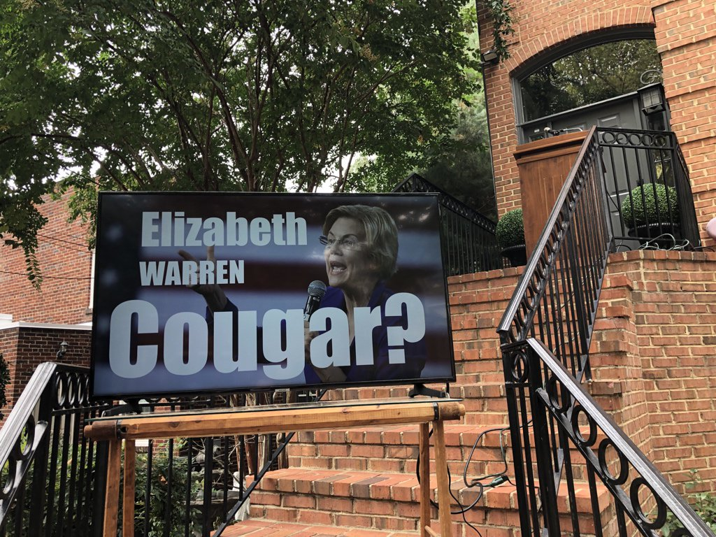 Elizabeth Warren, cougar?