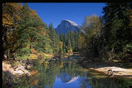 [Half-Dome and reflection]