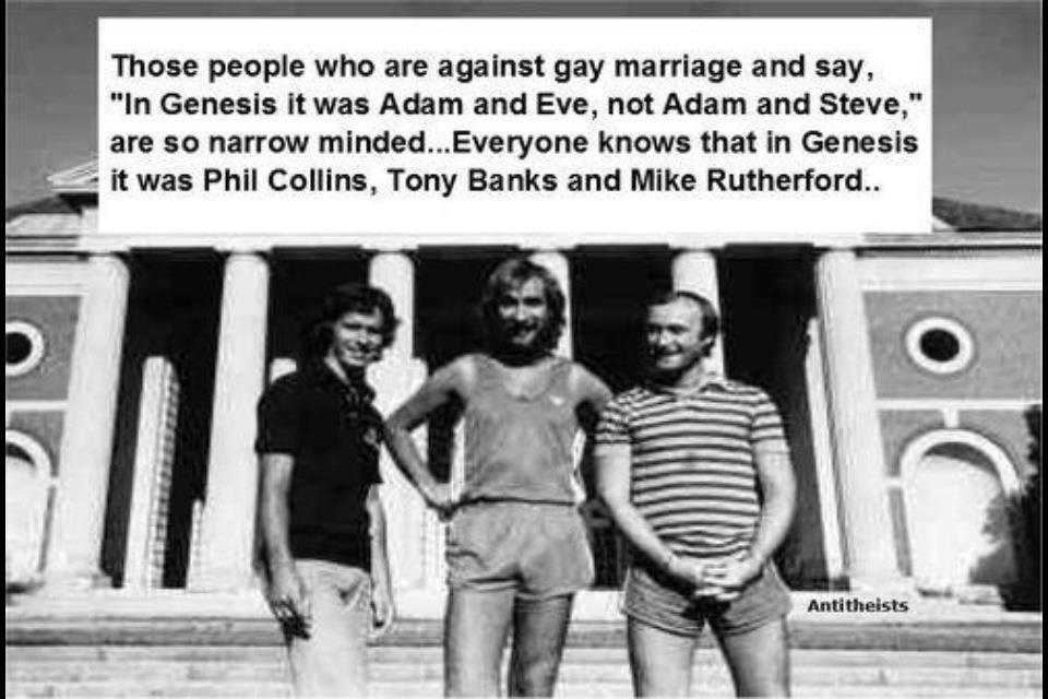 [Those people who are against gay marriage and say
